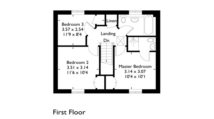 Plot 1 - First Floor