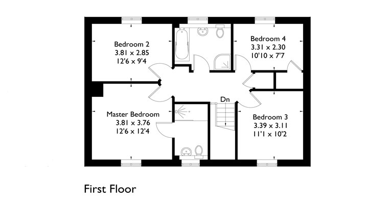 Plot 2 - First Floor