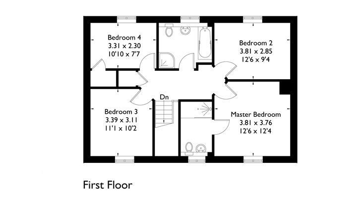 Plot 3 - First Floor