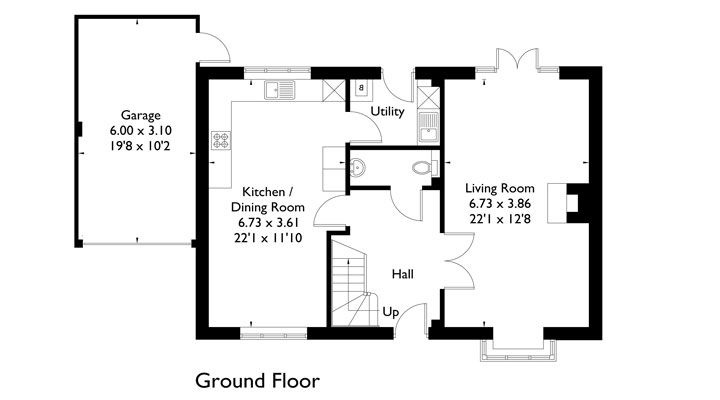 Plot 3 - Ground Floor